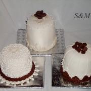 Torta mini tortičky na redový