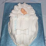 Torta krstinová perinka