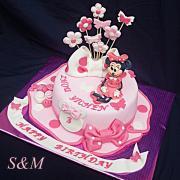 Torta minnie mouse pre cudzinku :-)