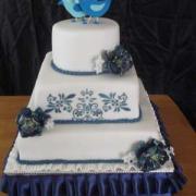 Torta vysnívaná svadobná :))