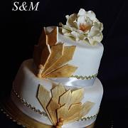 Torta netradičná svadobná torta