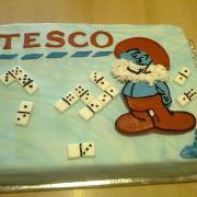 Torta Na Tesco párty...
