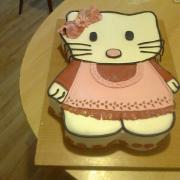 Torta Kitty na narodky...