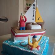 Torta Mat a Pat na lodi