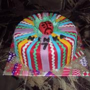 Torta malá farebná