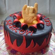 "Torta ""metalová"""
