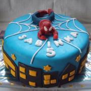 Torta spiderman č.2