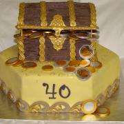 Torta Poklad pre Ludka k narodeninám