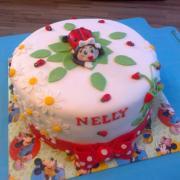 Torta narodeninová s lienkou