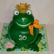 Torta Na želanie žabka