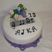Torta Narodeninová pre Ajku