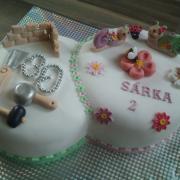 Torta pre dvoch oslávanecov