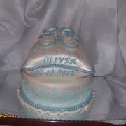 Torta krstinová pre Oliverka
