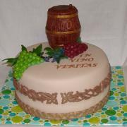 Torta Pre vinára k narodeninám