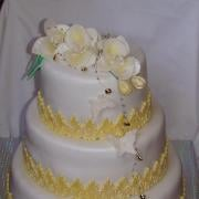 Torta Svadobné orchidejky