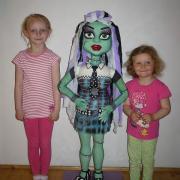 Torta Monster High Frankie Stein 128cm