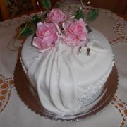 Torta Malá svadobná