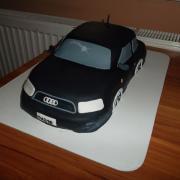 Torta Audi,tak trošku obité :-)