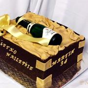 Torta čoko so šampanským
