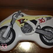 Torta torta motorka
