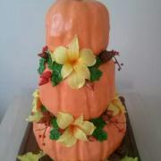 Torta svadobná tekvičková torta