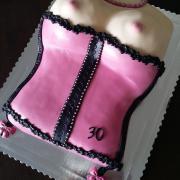 Torta Ženské torzo