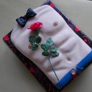 Torta Torzo s ružou