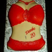 Torta torzo ženy