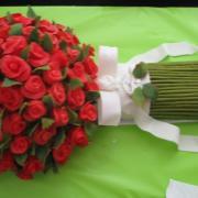Torta Kytica 70-tich ruží  /vážila 10 kg