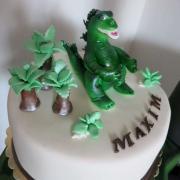 Torta dinosaurus