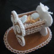 Torta kolíska pre vnúčika na krst