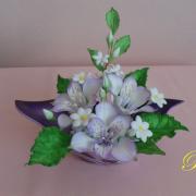 Torta kvety na výstavu Piešťany 2