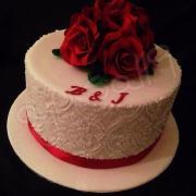 Torta Na vyrocie svadby