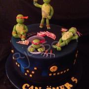 Torta Ninja turtles