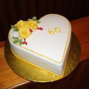 Torta narodeniny 60
