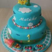 Torta Mtúško 1 rok