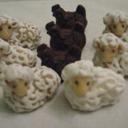 Torta ovečky a sliepocky