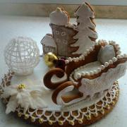 Torta Viaanočná dekorácia