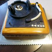 Torta gramofon