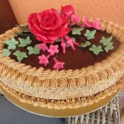 Torta narodeninová bez poťahu