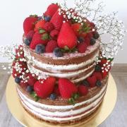 """""""nahatý"""" narozeninový dortík"""