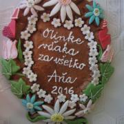 Torta poďakovanie priateľke
