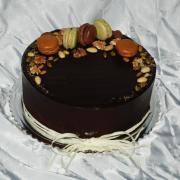 orieskovo-cokoladova s makronkami