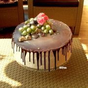 Torta čoko ovocná