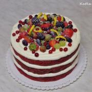 Torta  prekvapenie na 50-te výročie sobáša