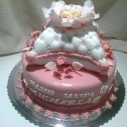 Moja prva krstinová tortička