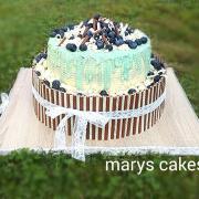 Aj takto môže vypadať torta na krst...