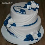 svadobná v modrom