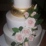 Svadobná bielo zlatá