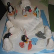 Torta pingu-tortička pre môjho vnúčika